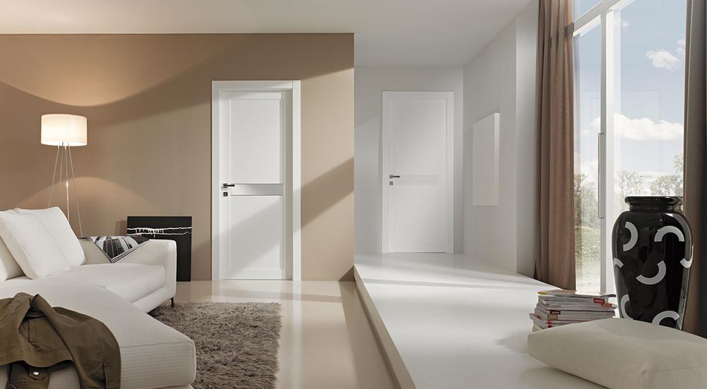 biele interiérové dvere